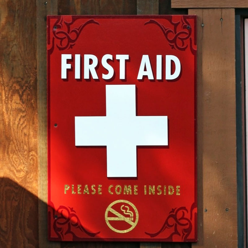 First Aid Station Utah