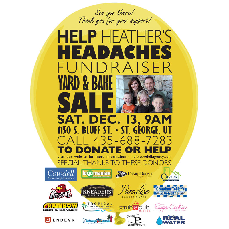 Help Heather's Headaches Fundraiser