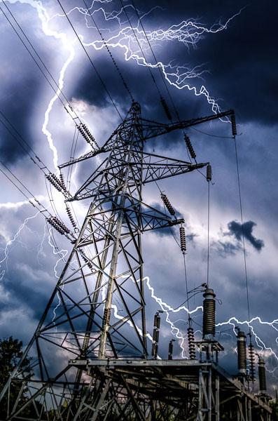 high voltage storm
